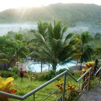 Green Mountain Resort Capiz MountainTop Bar Early Morning View