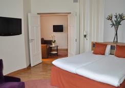 阿德龍精英酒店 - 斯德哥爾摩 - 臥室