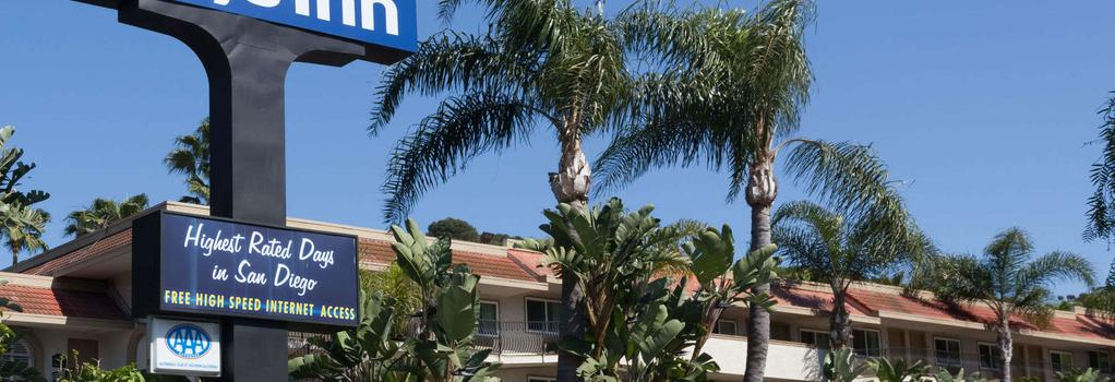 Days Inn San Diego Hotel Circle Near Seaworld - 聖地亞哥 - 建築