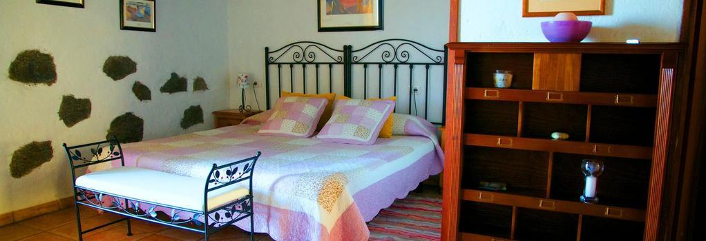 Hotel Rural La Correa - 阿羅納 - 臥室