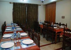 Hotel Shaneel Residency - 斯利那加 - 餐廳