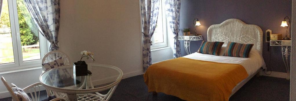 Hotel De La Paix - 里摩日 - 臥室