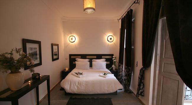 Riad Anyssates - 馬拉喀什 - 臥室
