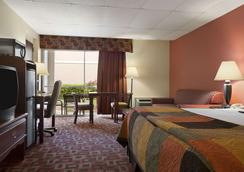 俄克拉荷馬城霍華德約翰遜快捷酒店 - Oklahoma City - 臥室