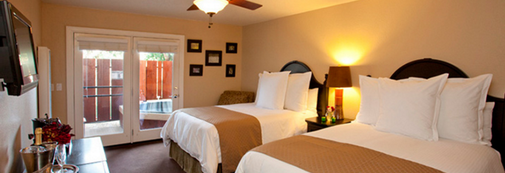 Sycamore Mineral Springs Resort - 聖路易斯-奧比斯保 - 臥室