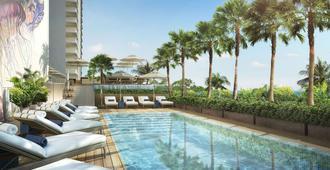 威基基海灘阿洛希拉尼酒店 - 檀香山 - 游泳池