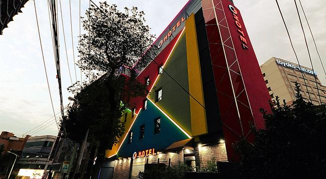 G Hotel - 釜山 - 建築