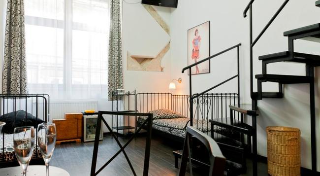 Pergamin Apartments - Krakow - 臥室