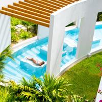 Excellence Playa Mujeres Outdoor Spa Tub
