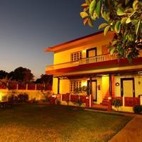 Tiger Safari Resort Hotel Front - Evening/Night