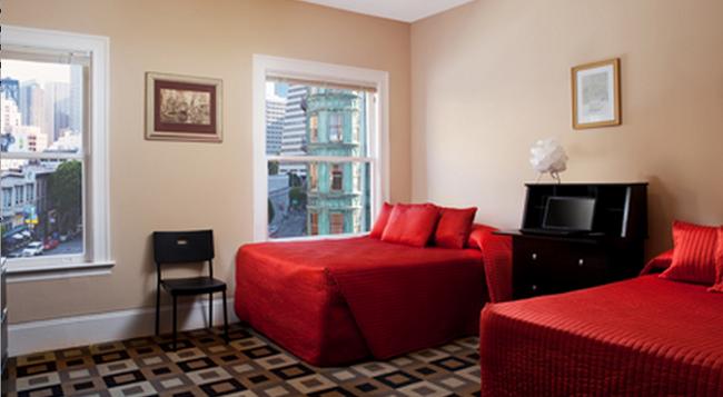 Hotel North Beach - 三藩市 - 臥室