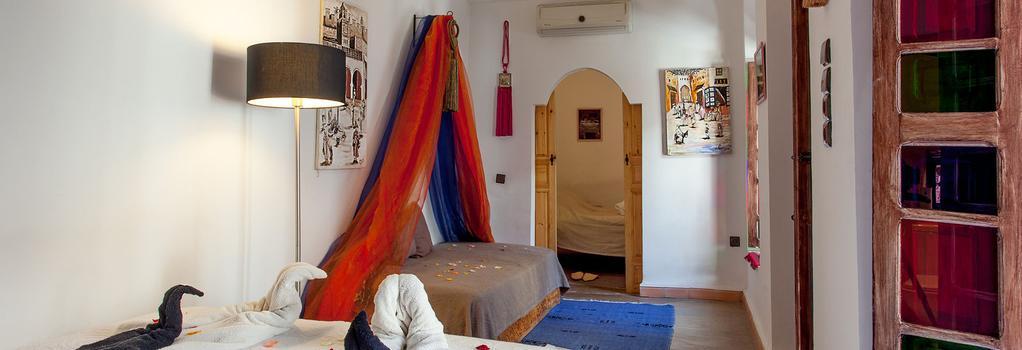 Riad Darija - 馬拉喀什 - 臥室