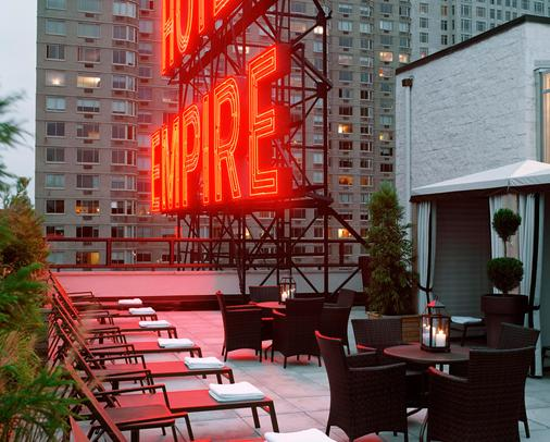 帝王酒店 - 紐約 - 陽台