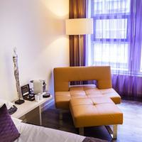 Albus Hotel Amsterdam City Centre Living Area
