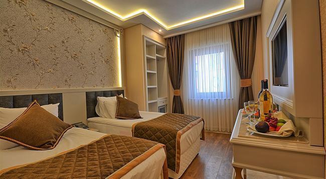 Samir Deluxe Hotel - 伊斯坦堡 - 臥室