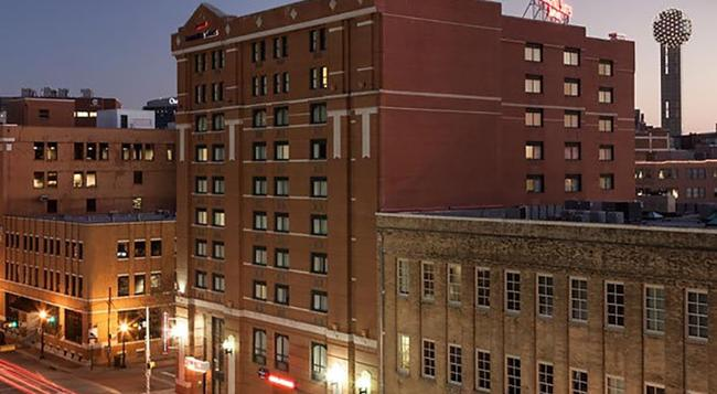 SpringHill Suites by Marriott Dallas Downtown-West End - 達拉斯 - 建築