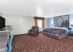 莫伯利速8汽車旅館 - Moberly - 臥室