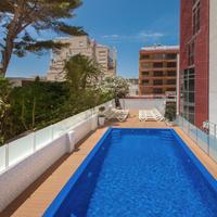 Hotel Rh Gijón Segunda piscina exterior