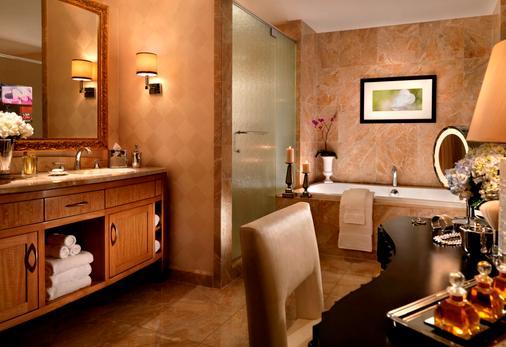 拉斯維加斯特朗普國際飯店 - 拉斯維加斯 - 浴室