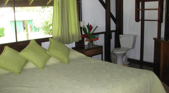 Saladero Eco Lodge - Golfito - 臥室