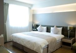 新苑庭園大飯店 - 新竹市 - 臥室