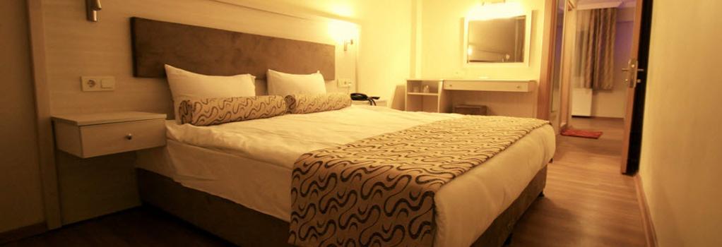 Grand Zeybek Hotel - 伊茲密爾 - 臥室