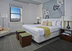 阿福尼亞曼哈頓酒店 - 紐約 - 臥室