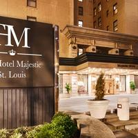 The Hotel Majestic St. Louis Exterior