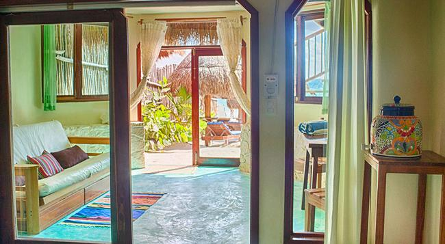 Playa Canek Boutique Eco Hotel - 圖盧姆 - 臥室