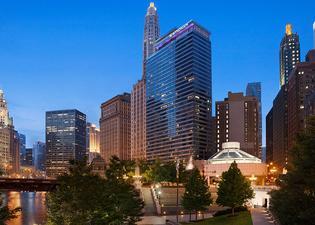 芝加哥河濱溫德姆酒店