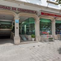 Hotel Ciudad de Compostela Hotel Entrance