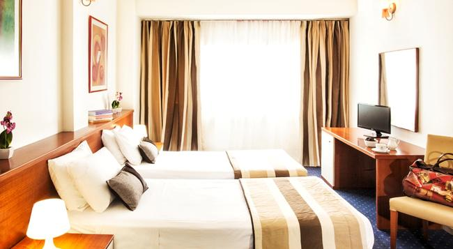 Plaza Hotel - 塞薩洛尼基 - 臥室