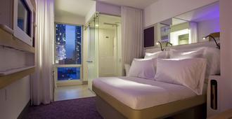紐約時代廣場優特爾酒店 - 紐約 - 臥室