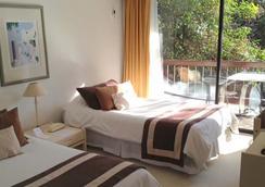 Hotel Acacias de Vitacura - 聖地亞哥 - 臥室