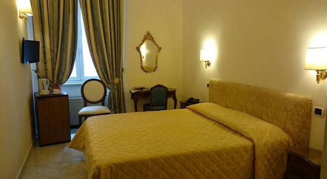 Hotel San Silvestro - 羅馬 - 臥室