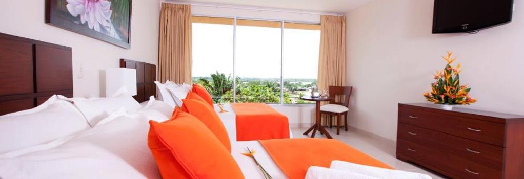 Hotel Anaconda - 萊蒂西亞 - 臥室