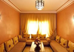 莫加多爾門扎公寓酒店 - 馬拉喀什 - 休閒室