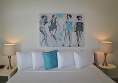 阿瓜阿北海灘村度假酒店 - 勞德代爾堡 - 臥室