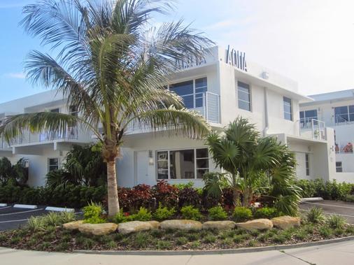 阿瓜阿北海灘村度假酒店 - 勞德代爾堡 - 建築