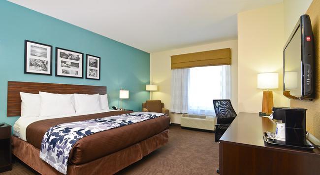 Sleep Inn & Suites Austin North - I-35 - 奧斯汀 - 臥室