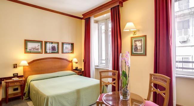 Hotel Milani - 羅馬 - 臥室