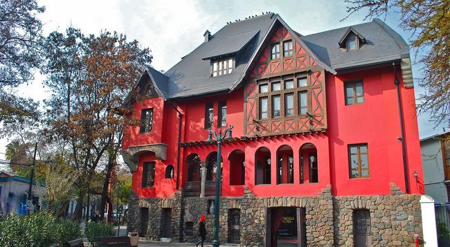 Hotel Boutique Castillo Rojo - 聖地亞哥 - 建築