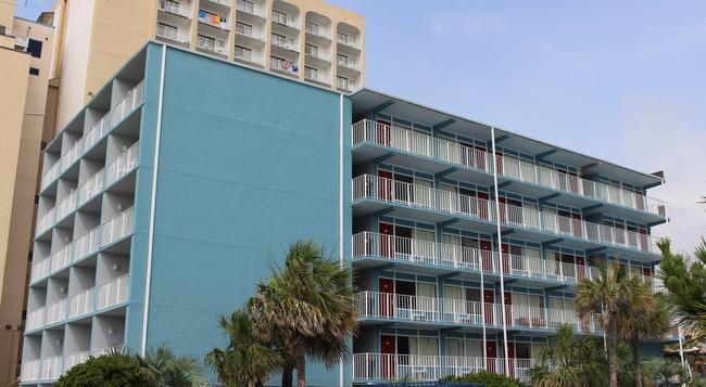 Blu Atlantic Oceanfront Hotel & Suites - 默特爾比奇 - 建築