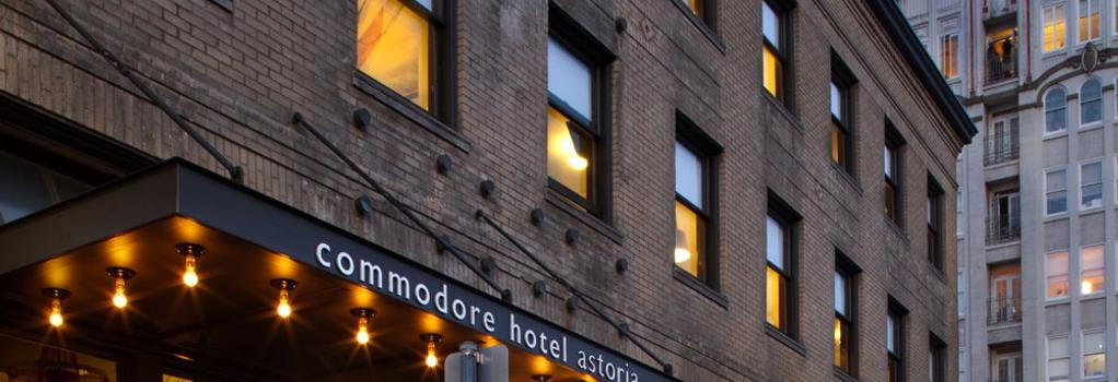 Commodore Hotel - Astoria - 建築