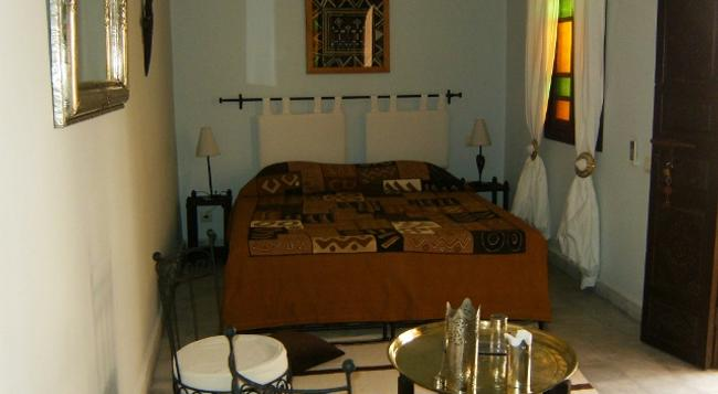 Riad 22 L'Étoile d'Orient - 馬拉喀什 - 臥室