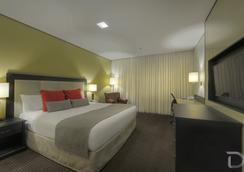 阿雷格里港德維爾總理酒店 - 阿雷格里港 - 臥室
