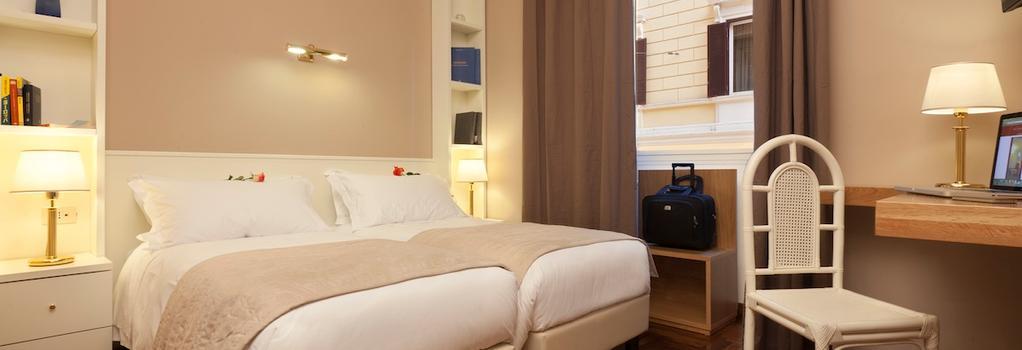 Hotel Italia - 羅馬 - 臥室