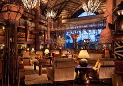 Disney's Animal Kingdom Lodge - 博偉湖 - 大廳
