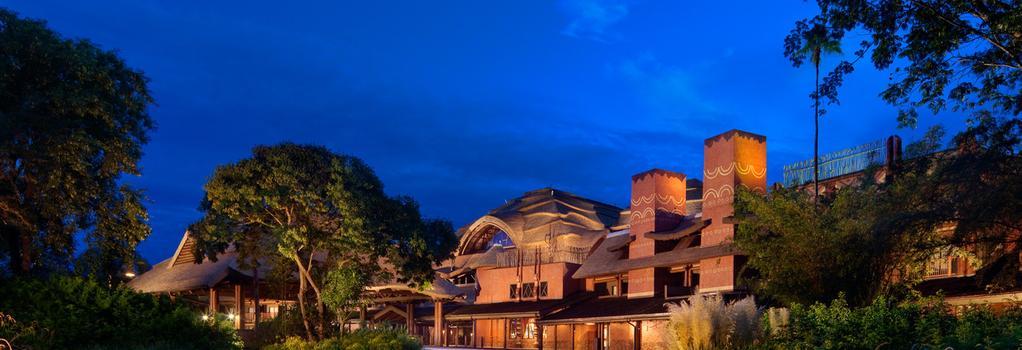 Disney's Animal Kingdom Lodge - 博偉湖 - 建築