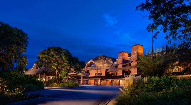 Disney's Animal Kingdom Lodge - 博偉湖 - 建築